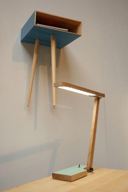 DoubleDeck side table or: | storage . Regal . étagère | Design made in Germany: GreimDesign |