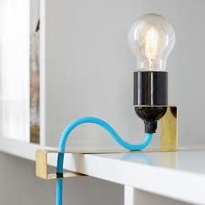 clip lamp for shelves - Google Search