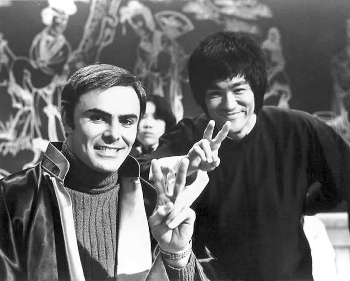 John Saxon and Bruce Lee on the set of ENTER THE DRAGON | Bruce lee martial  arts, Bruce lee, Documentaries