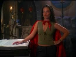 -one of my favorite episodes!!  iper red riding hood. Charmed. Holly Marie combs