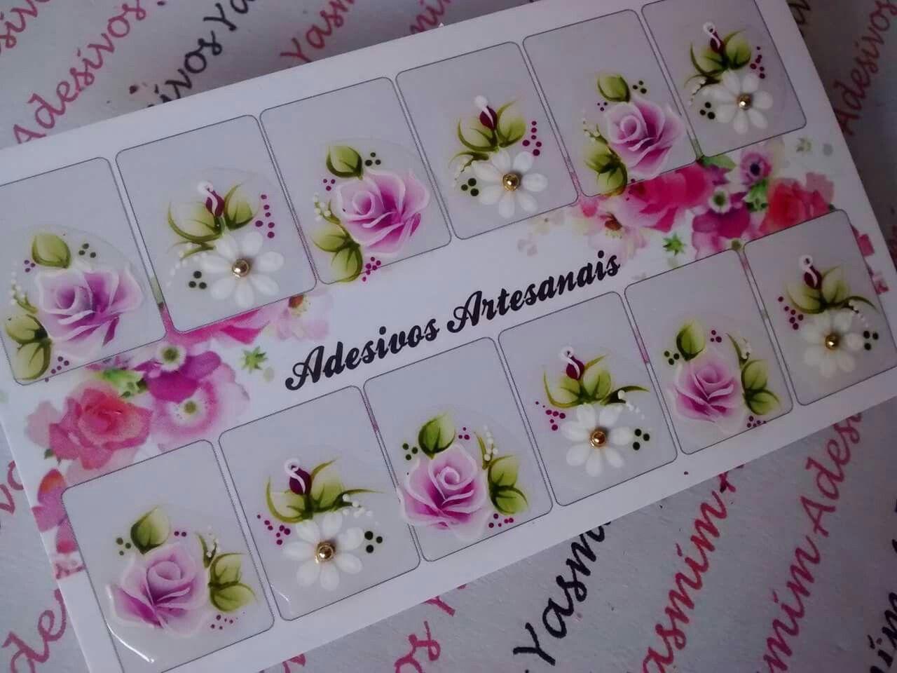 Feira Artesanato Em Ingles ~ Pin de Lene Sousa em Unhas decoradas Pinterest Adesivo