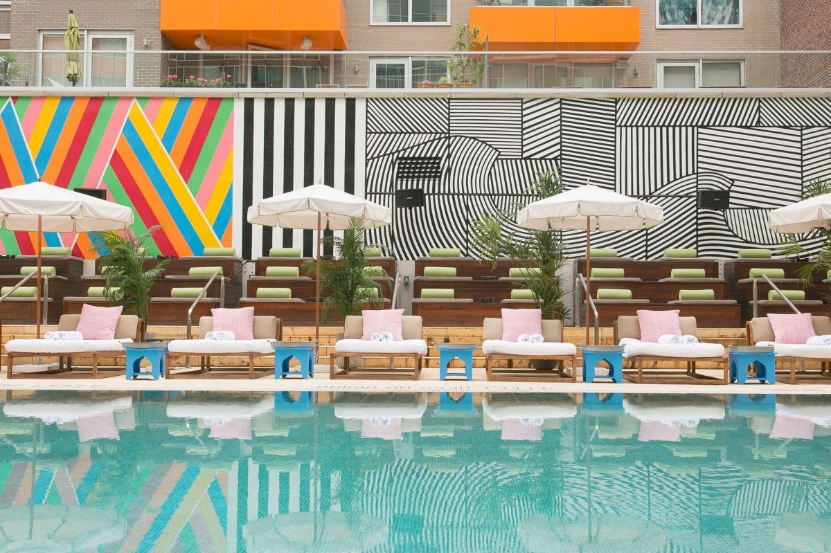 9 best outdoor hotel pools in new york city hotel pool - New york hotels with swimming pools ...
