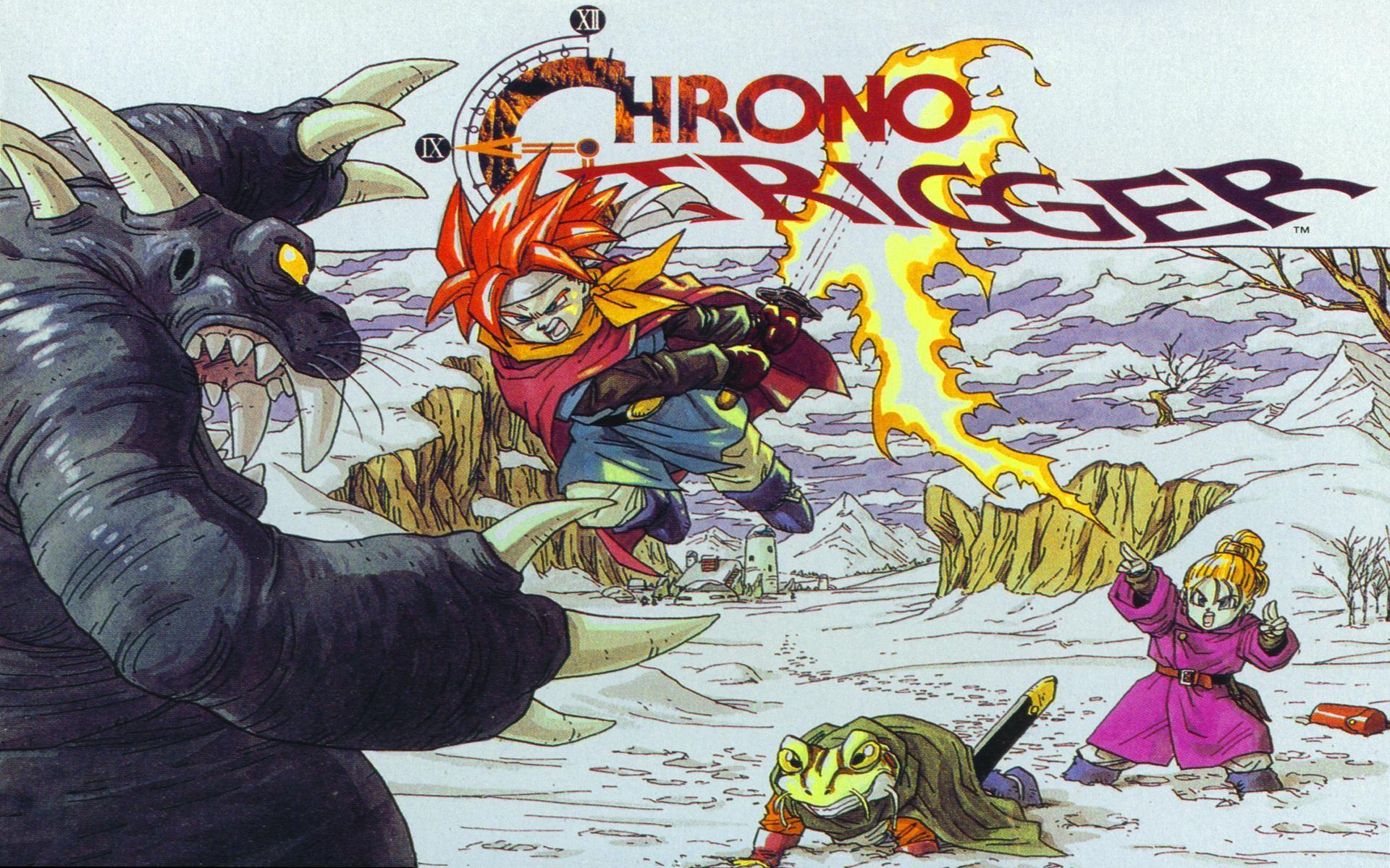 Crono Art Approved Wallpaper Chrono Trigger Ultra Hd Wallpaper Chrono