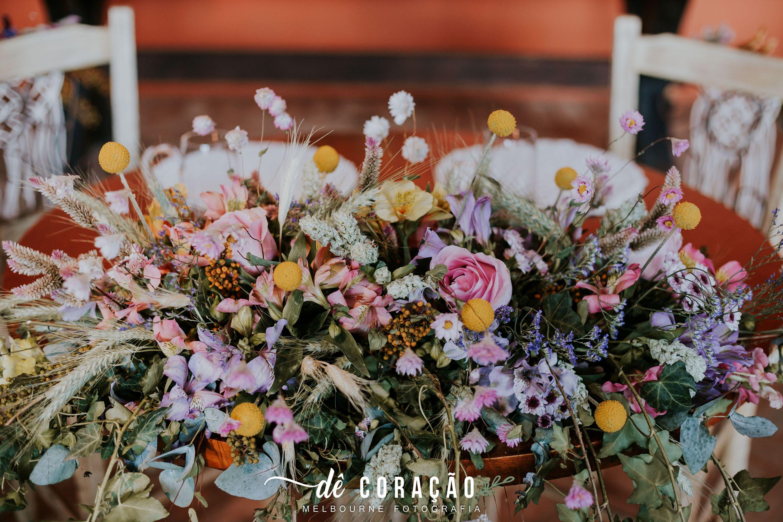 Arranjo Floral Mesa Dos Noivos Casamento De Dia Casamento Ao Ar