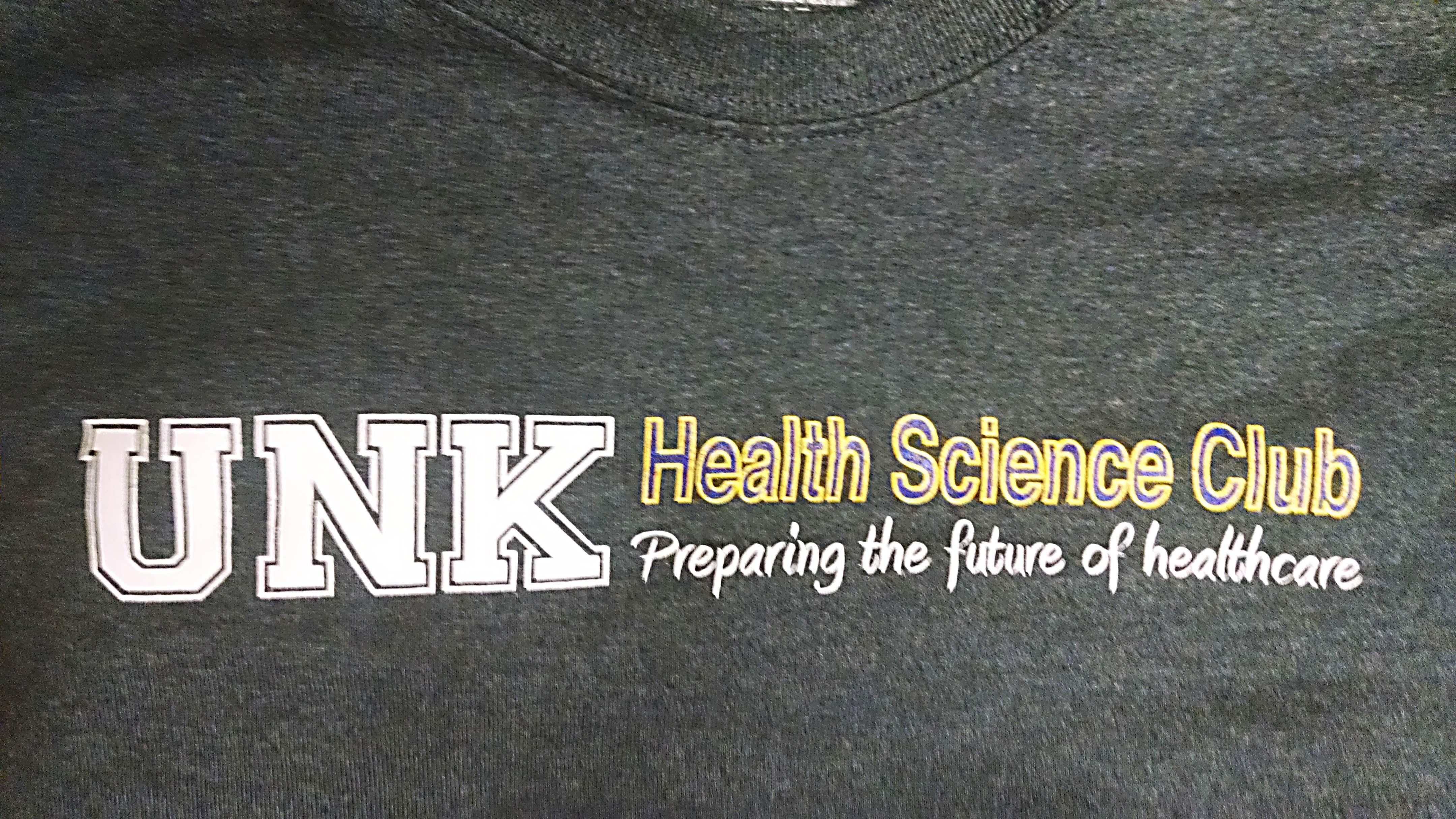 Unk Health Science Club University Of Nebraska At Kearney Apparel T Shirt Tee Shirt Design Screen Print Sc Tee Shirt Designs Shirts Shirt Designs