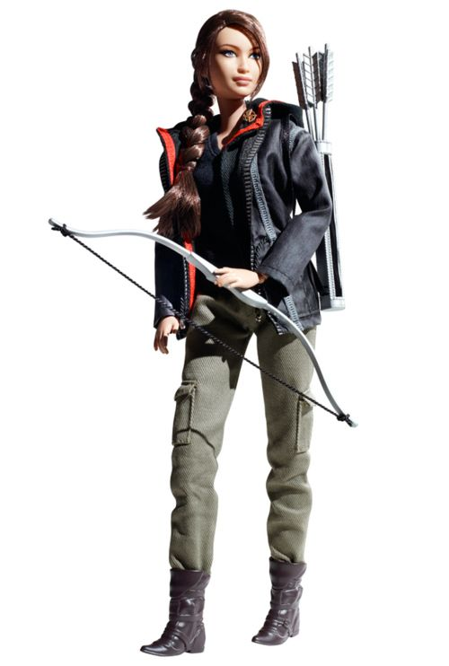 Katniss Action Figure -->Barbie, kiss your butt goodbye!