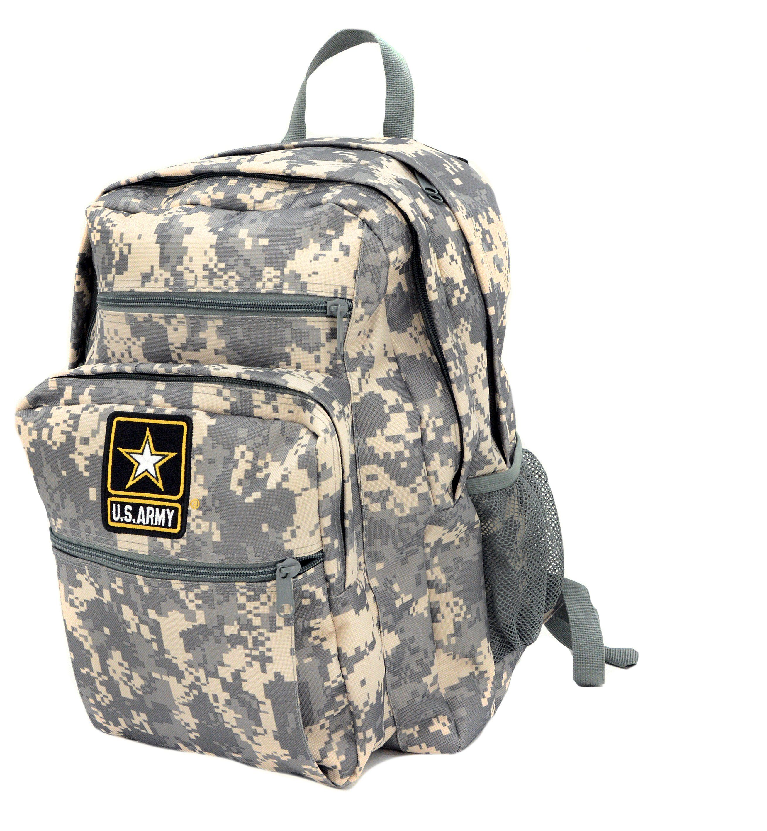 85947590e10 U.S. Army Logo Digital Camo Backpack | campin' | Camo backpack ...