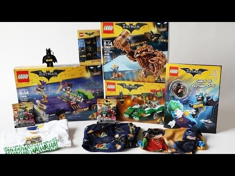 I received a giant mystery LEGO Batman box from Warner Bros ...