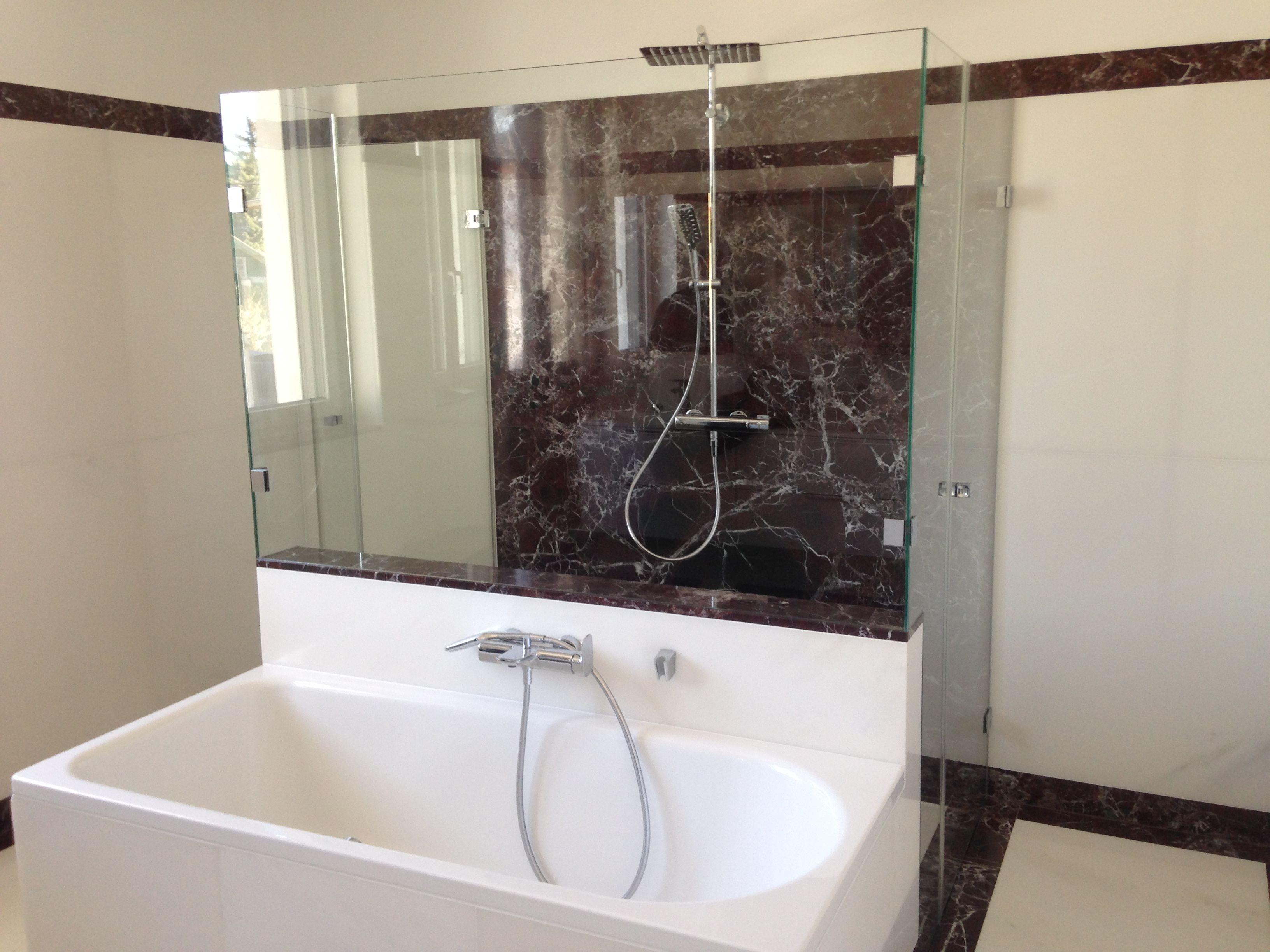 Trennwand Dusche Badewanne Badewanne Trennwand Dusche