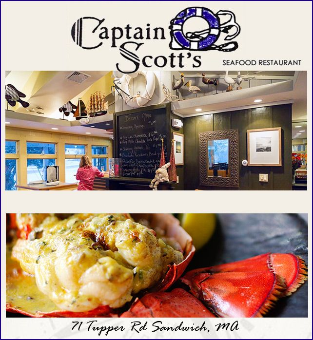 Cape Cod Daily Deal With Captain Scott S Seafood Restaurant In Sandwich Start Off