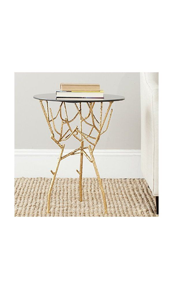 Safavieh Home Collection Tara Gold Accent Table Deal Price 133 07 From Https