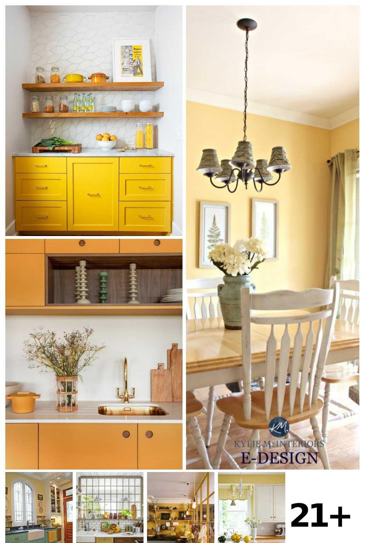 21 Yellow Kitchen Ideas Kitchen Decor Kitchen Cabinets To Ceiling Yellow Kitchen Designs