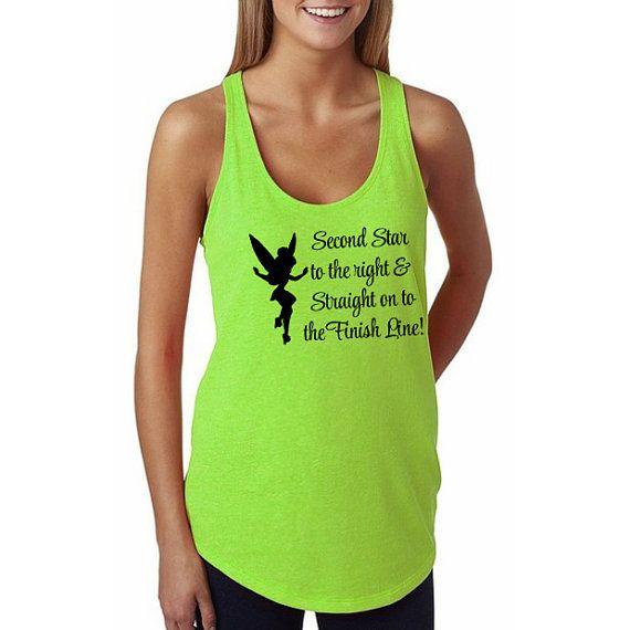 ff1947b469 Walt Disney World Tinker Bell Half Marathon Tank // Tinkerbell 13.1 Running  Shirt // Tinkerbell Run // Disney Run, Disney World Marathon