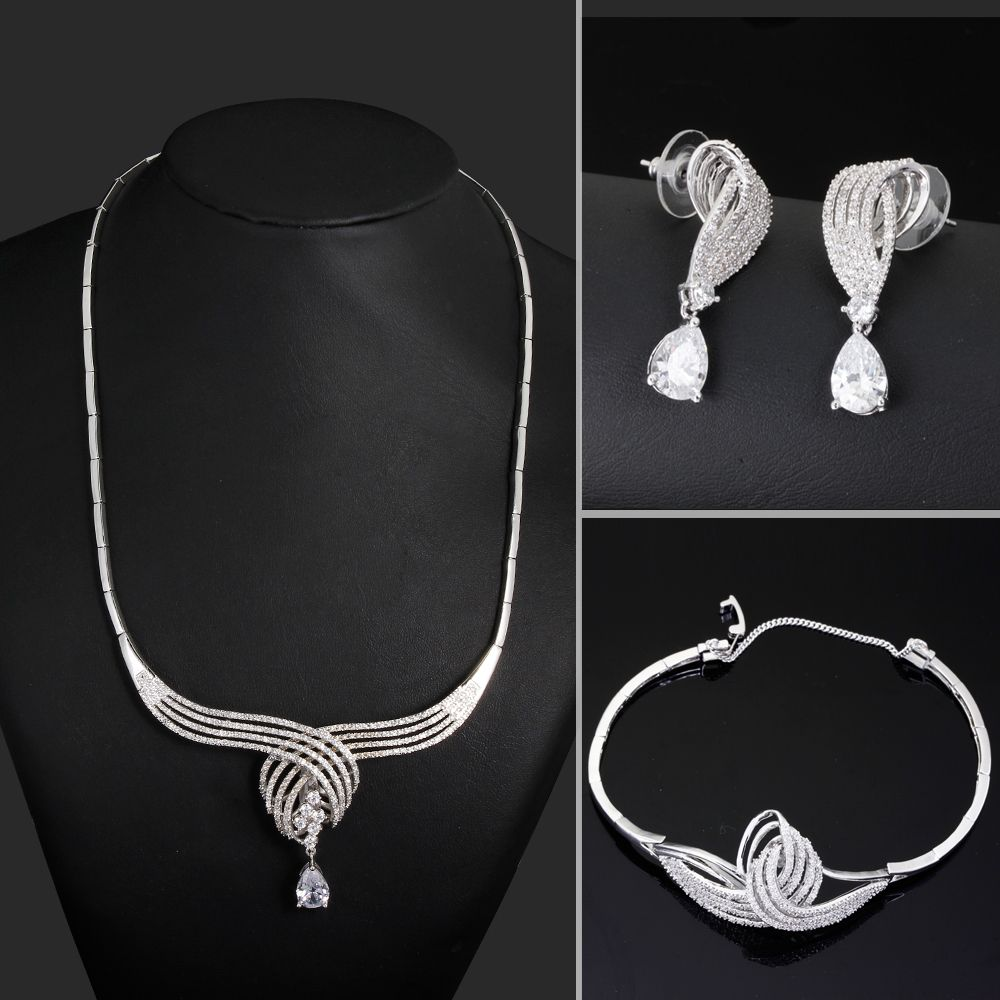 Find More Jewelry Sets Information about New Look Women Platinum