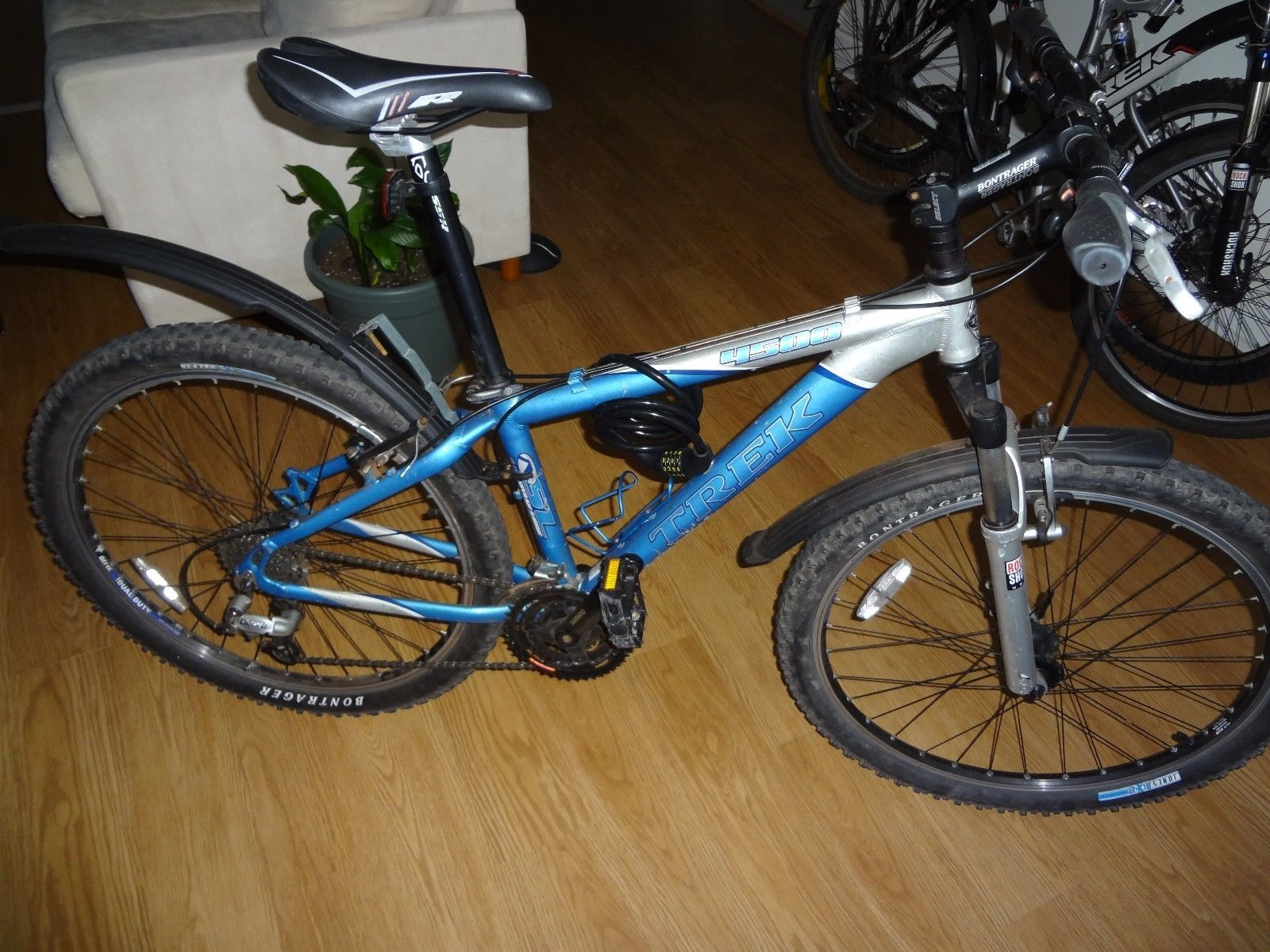 trek 4500 mountain bike frame size 13\