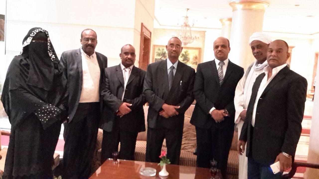 التهامي يلتقى بالجاليات السودانية  في مصر ويطلعهم على المستجدات في السودان