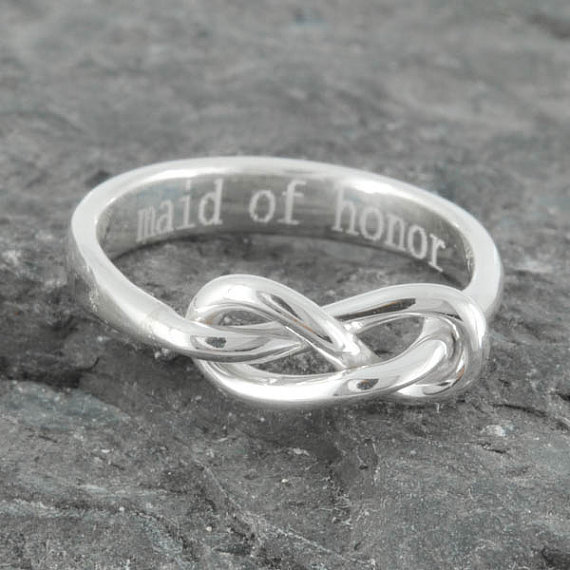 Infinity Ring Maid Of Honor Gift Maid Of Honor Best By Jubilejewel