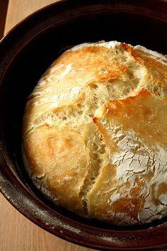 Anna S Rustic No Knead Artisan Bread Add 6 Minced Garlic Cloves And 1