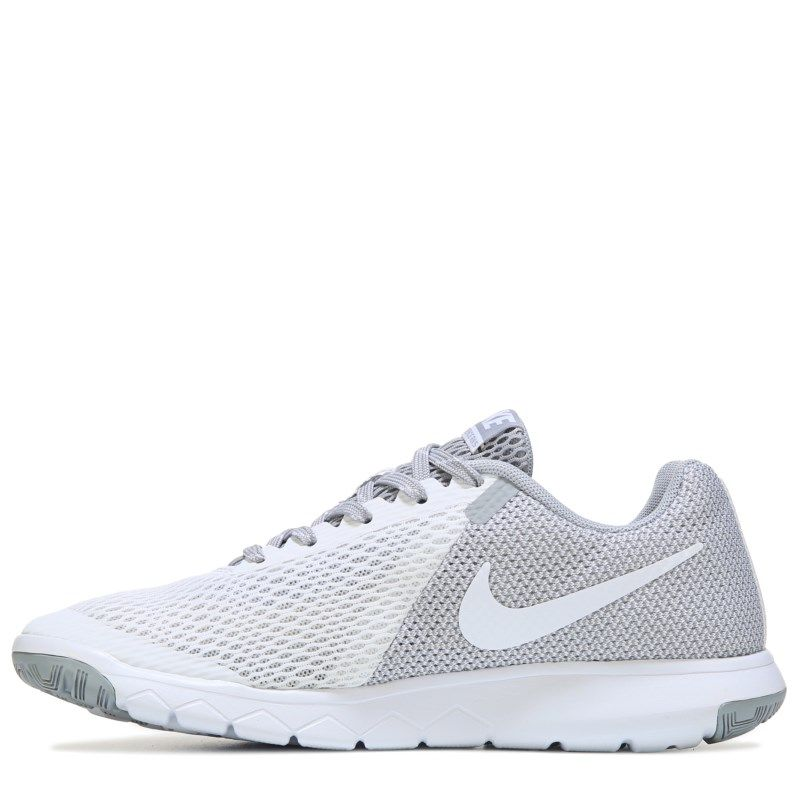 f32eed192846b Nike Women s Flex Experience RN 5 Running Shoes (White Grey) - 5.0 M
