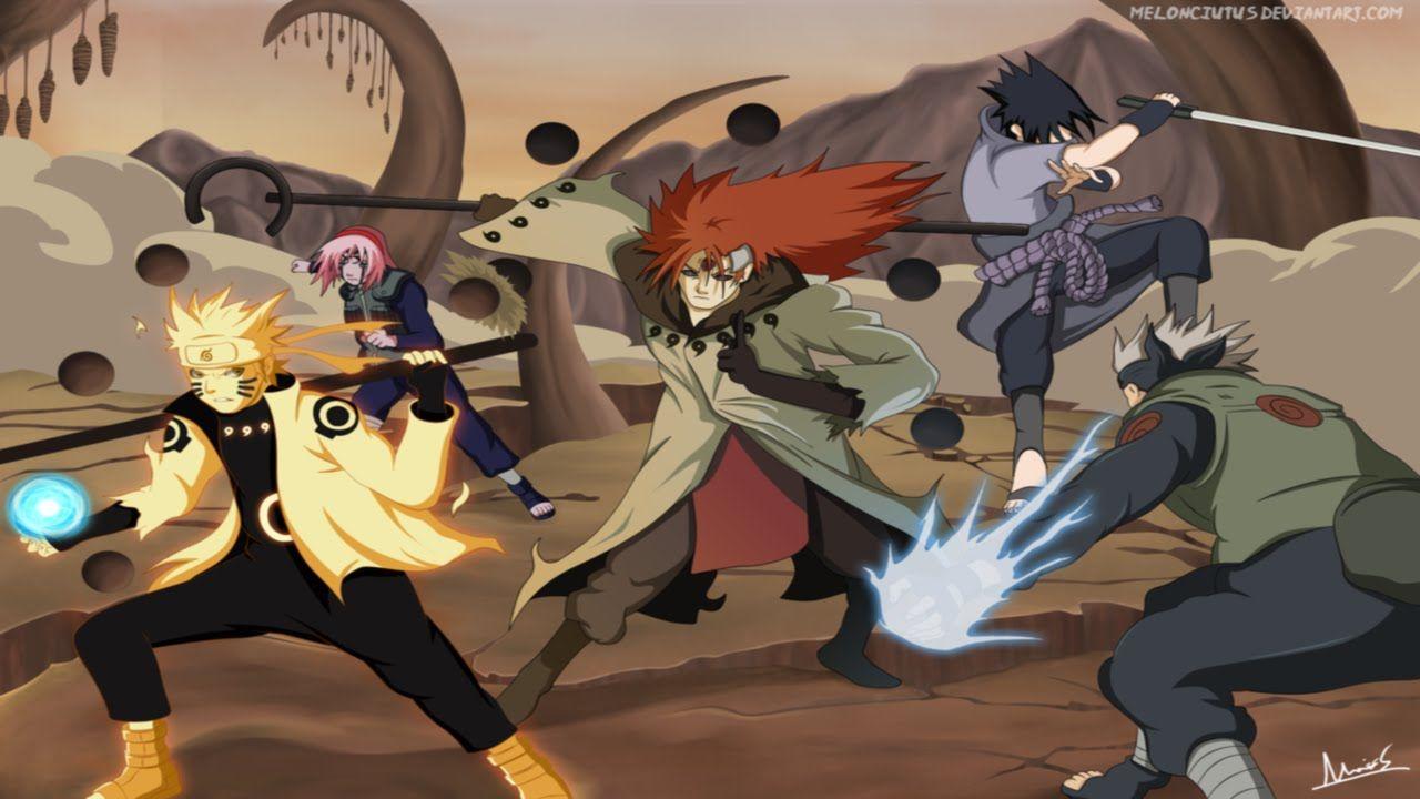 Unlimited Ninja Battle Montage Anime Ninja Games