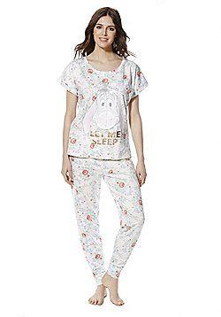 Ladies Womens Winnie The Pooh Eeyore Pyjamas Disney