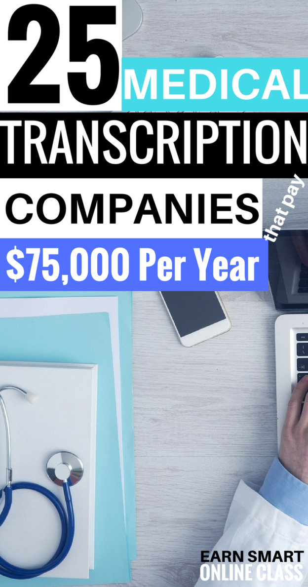 21 Companies With Remote Medical Transcription Jobs Medical