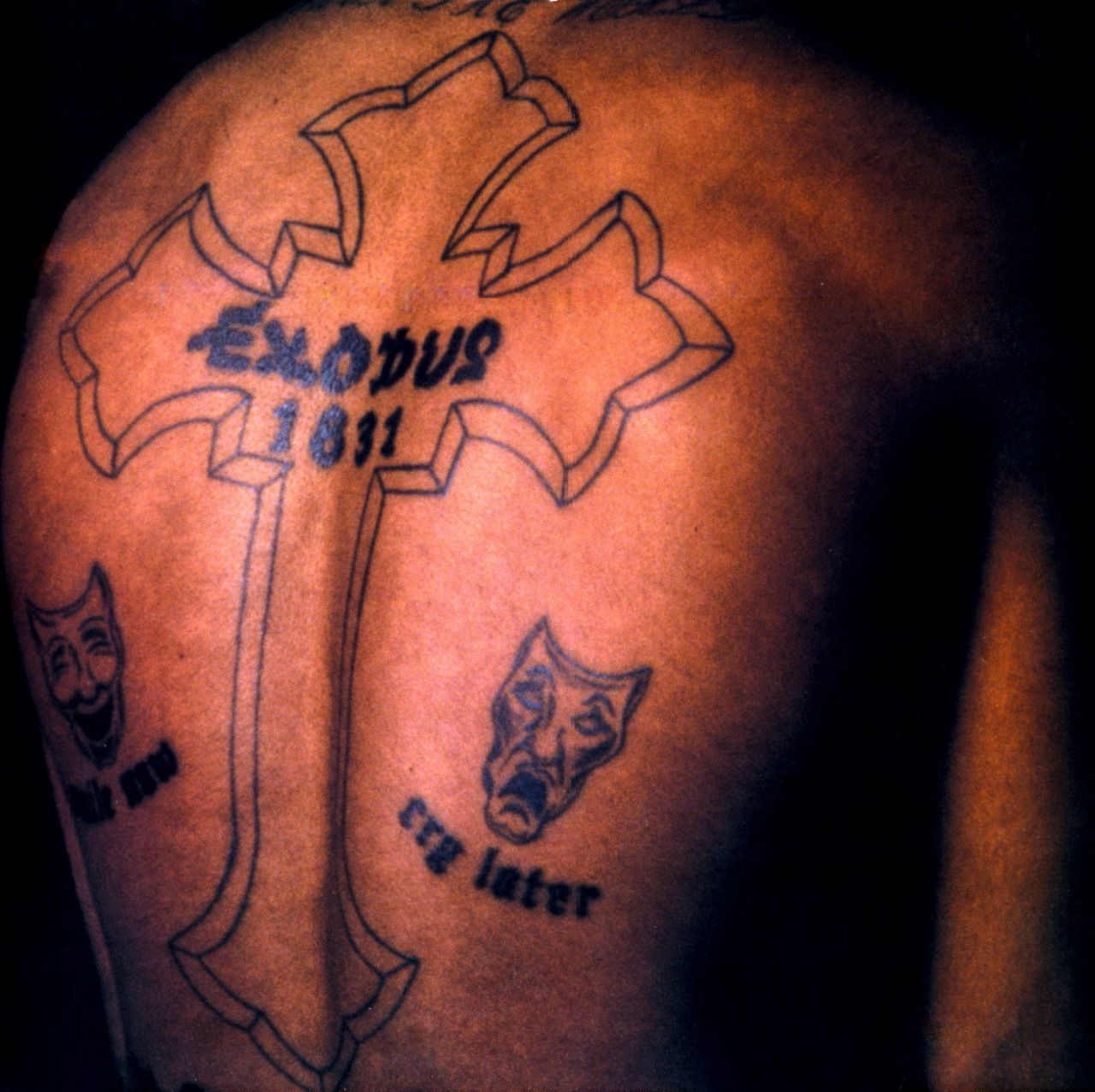The Two Possible Meanings Of Tupac's Tattoo EXODUS 18:31