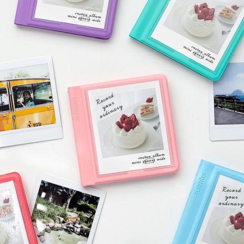 Details About 2Nul Instax Polaroid Photo Album [Square