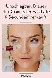 Ein Wunder gegen Augenringe: Dieser Maybelline Concealer geht bei dm alle sechs ... - #augenringe #concealer #dieser #gegen #maybelline #sechs #wunder - #HaarUndBeauty #darkcircle