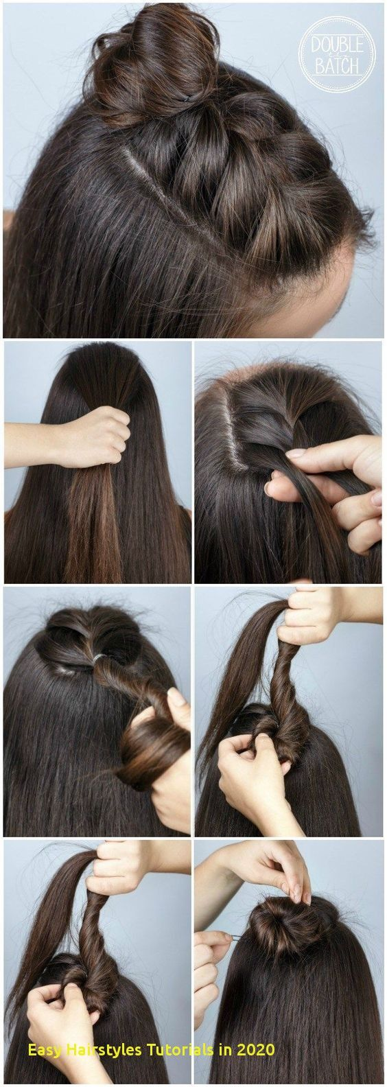 96 Awesome Easy Hairstyles Tutorials In 2020