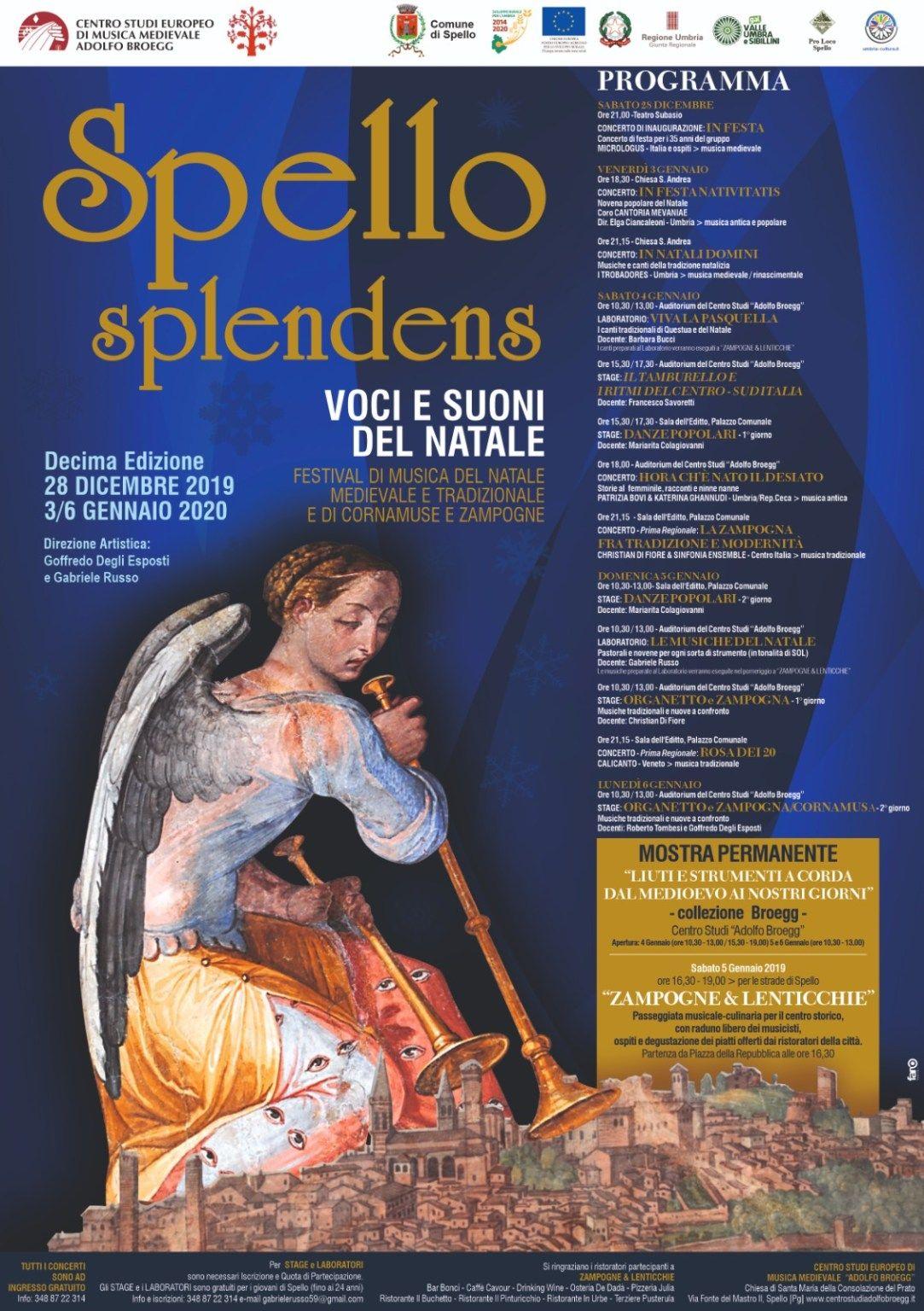 Spello Splendens Decima Edizione Musica Medievale Musica Libri