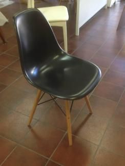 Eames Dining Chair BlackDining ChairsGumtree Australia
