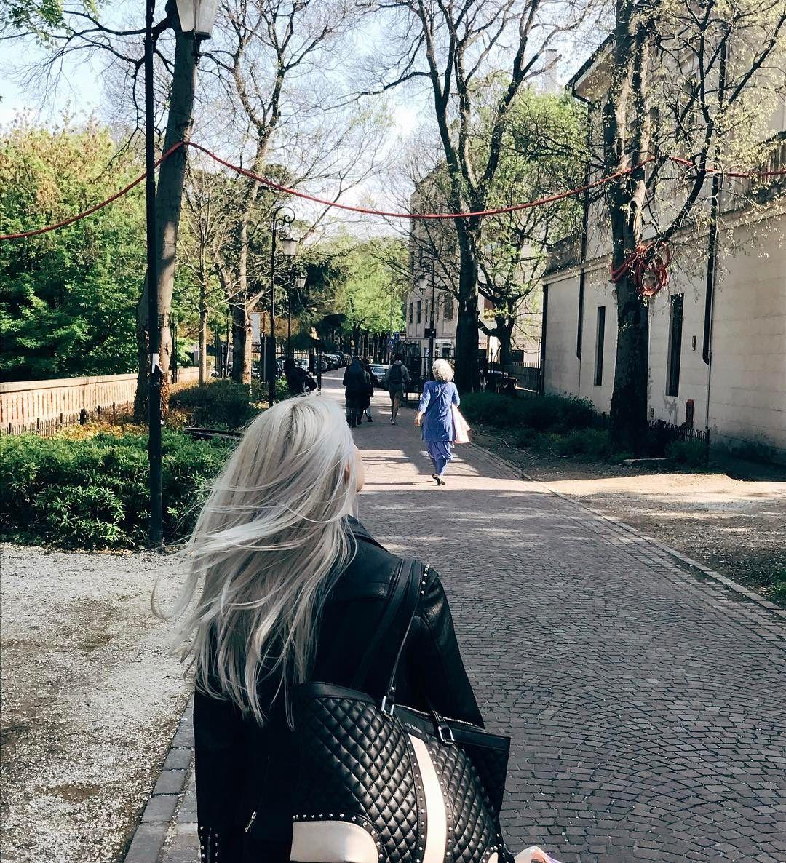Grey hair #Swissshh