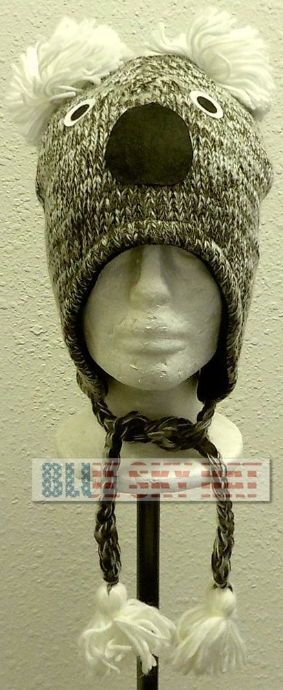 NEW LEAVES CAMO CAMOUFLAGE JACQUARD BEANIE SKI THICK KNIT WINTER WARM CAP HAT OS