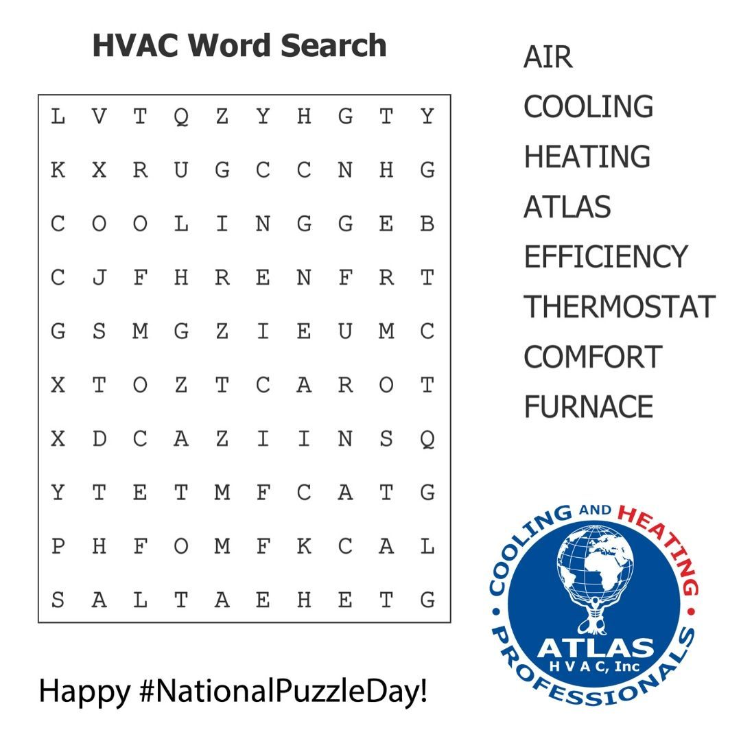 Happy Nationalpuzzleday Enjoy Our Atlashvacinc Wordsearch