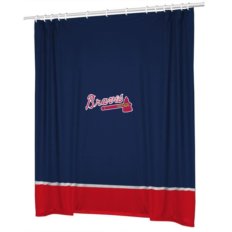 MLB Atlanta Braves Shower Curtain