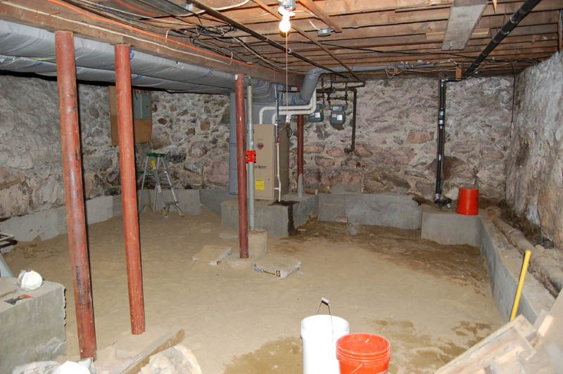 Renovating A 100 Year Old Basement Basement Rooms In