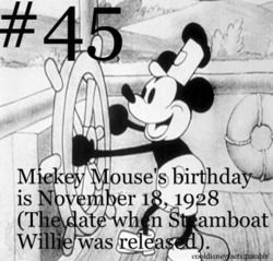 Follow for cool facts about everything Disney. You can submit your own facts (credit is always...