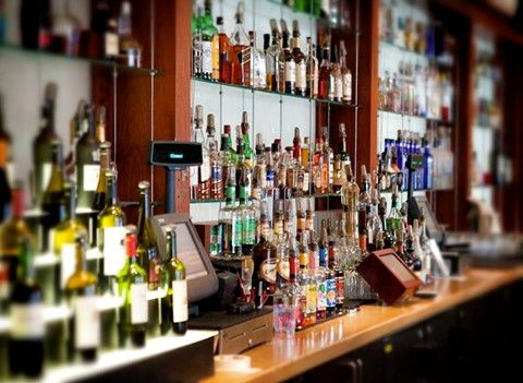 Our Bar Is Stocked With Whatever You Could Possibly Have A Craving For Sandiego Beautiful Bars Gas Lamp Wine Rack
