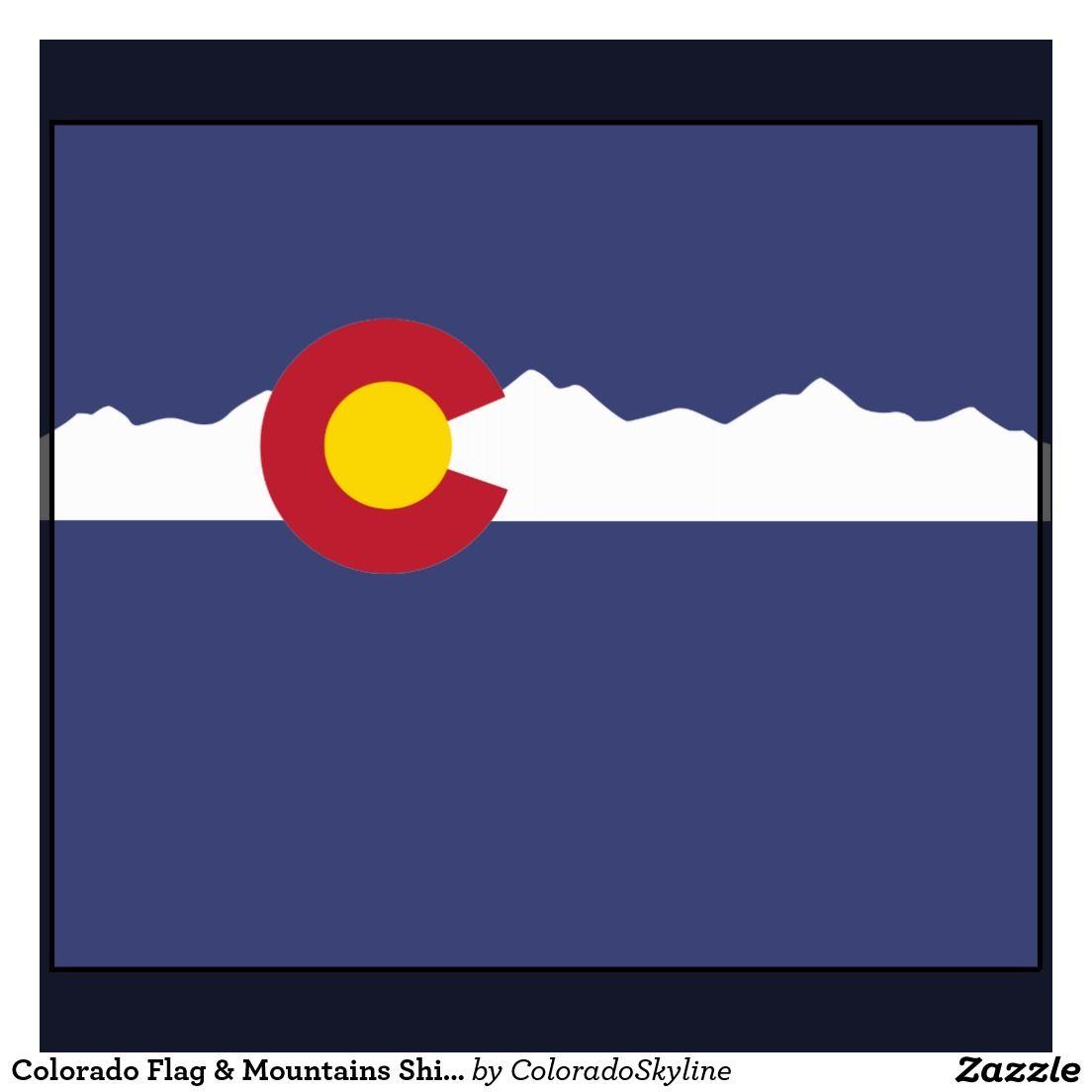 Colorado flag with mountains google search