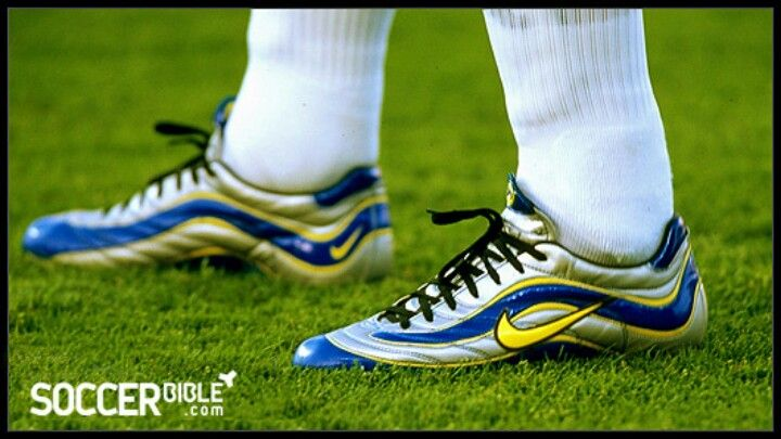 The nike mercurial 1 model is the boot that changed the world of football  equipment. Worn by Ronaldo