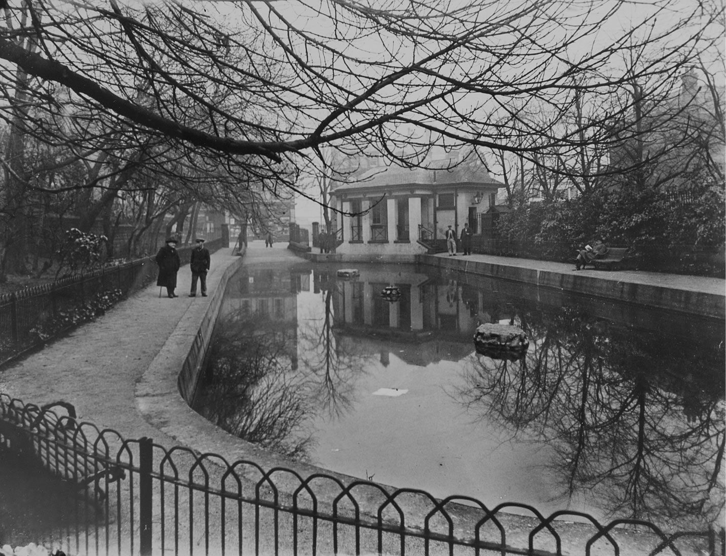 The Lode Pond, Woolton, 1936 in 2020   Liverpool, East ...