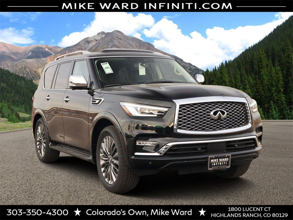 2020 Infiniti Qx80 Expert Review Of The 2020 Infiniti Qx80 Provides The Latest Look At Trim Level Features And Specs Performance Safety In 2020 Infiniti Car New Cars