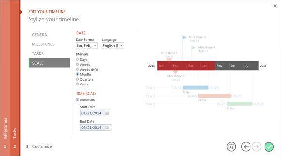 OfficeTimeline - ppt add-in to do timelines / Gannt