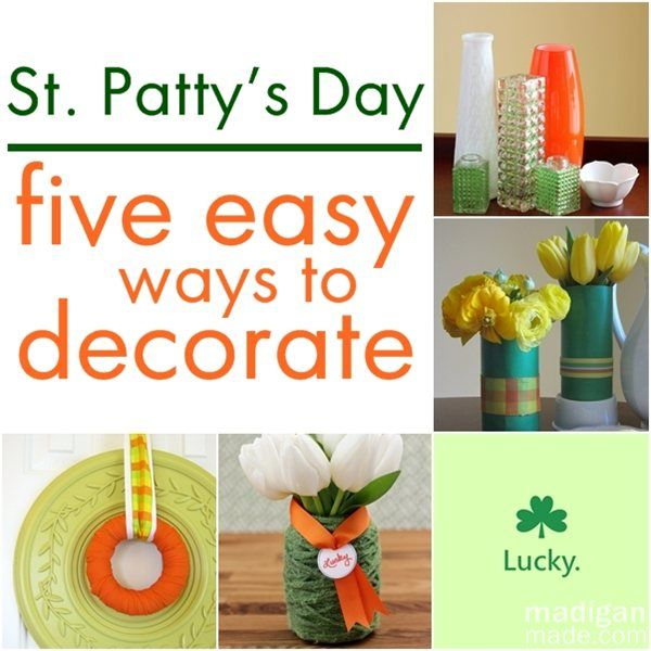 Simple St Patty S Day Decor Madigan Made Simple Diy