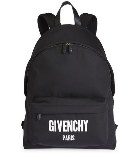 2da90414a923 Givenchy Iconic Print Backpack Black  235.00