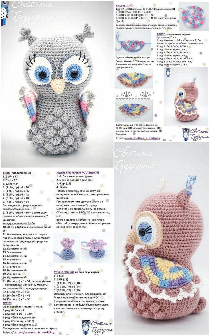 10 kostenlose Häkel-Amigurumi-Muster - Kunsthandwerk - Welcome to Blog