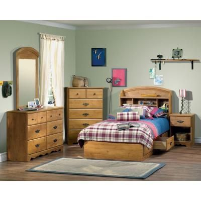 South Shore Furniture Prairie Country Pine Dresser-3232027 at The