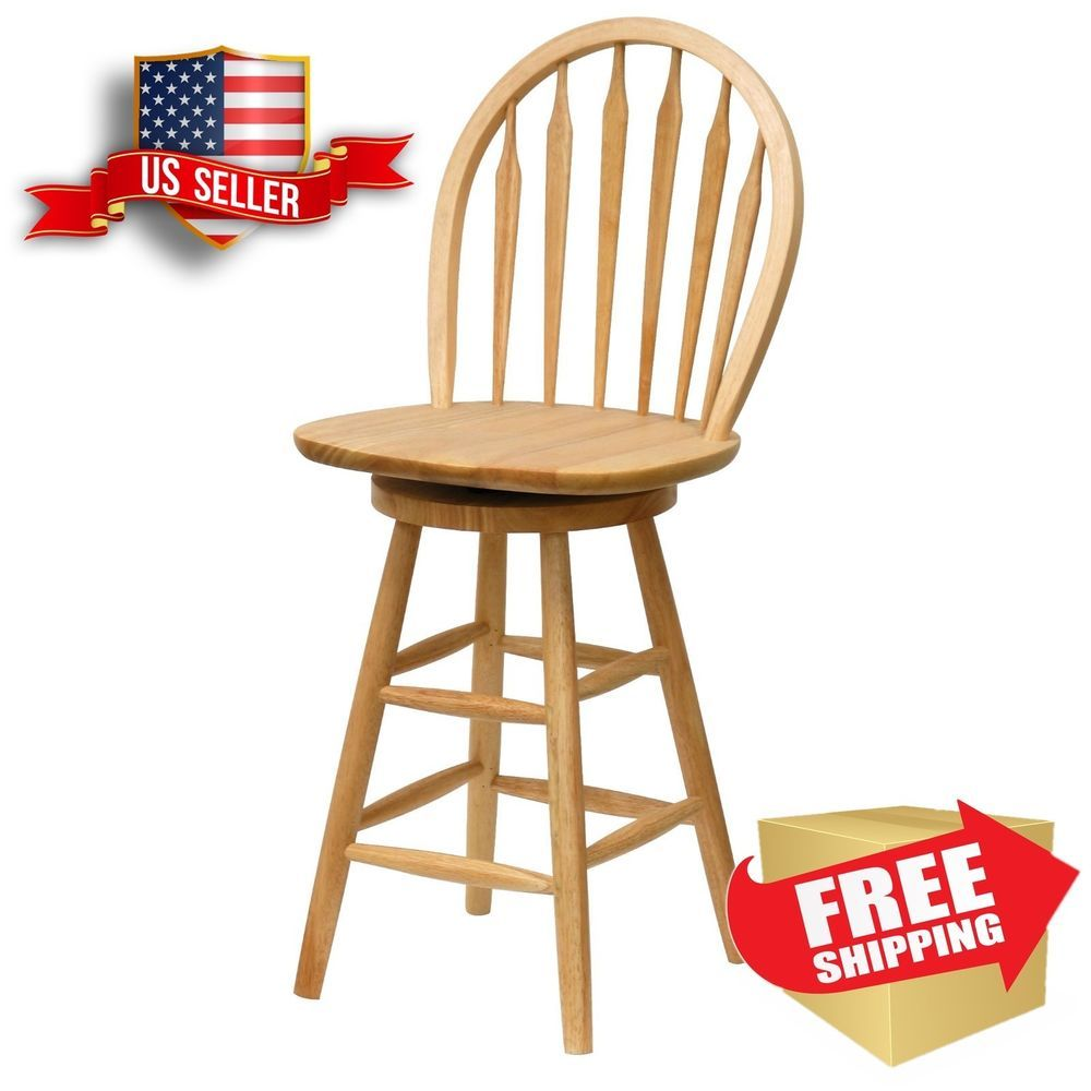 Dining Chair Counter Height Stools With Backs 24 Inch Swivel Seat