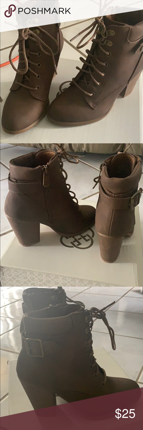 Daisy Fuentes Brown Boots – Get the lowest price on your favorite brands at poshmark.